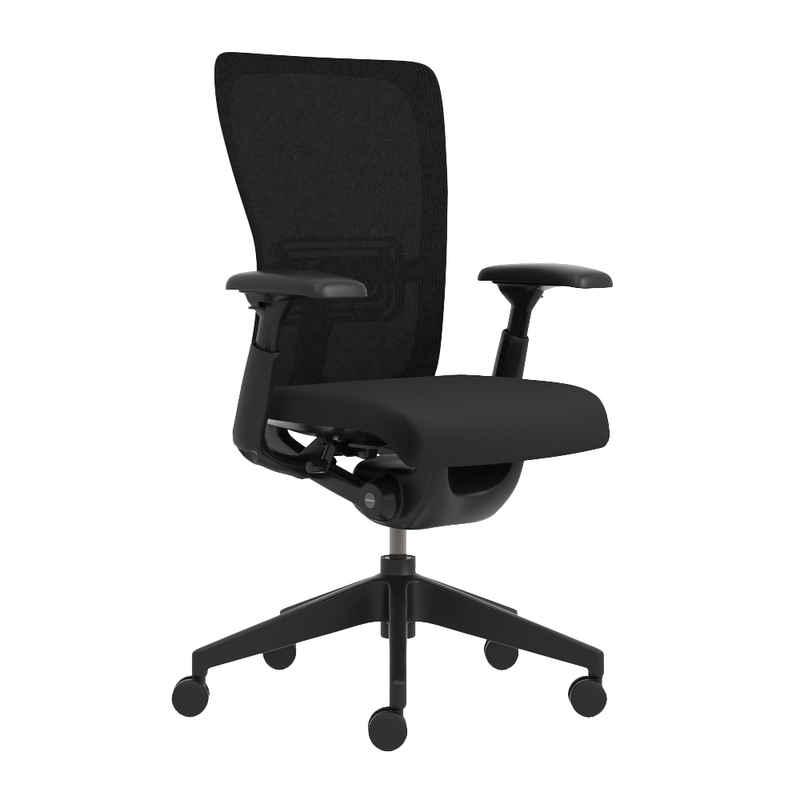 Haworth Drehstuhl »Zody«, ergonomischer Bürostuhl mit Armlehne und Rollen