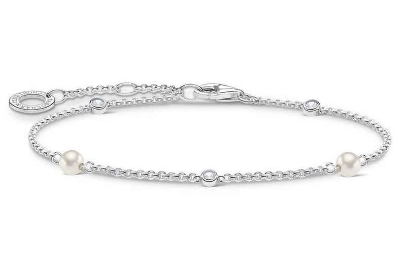 THOMAS SABO Gliederarmband »Silber mit Perlen«