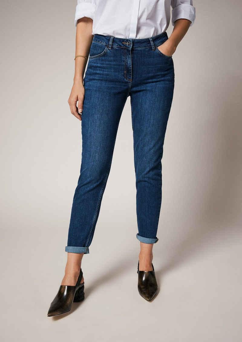Comma 7/8-Jeans »Skinny: Denim mit Waschung« Waschung