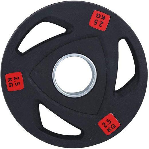 Technofit Hantelscheiben »Hantelscheiben Olympic 2 x 2,5 kg 50mm Durchmesser«