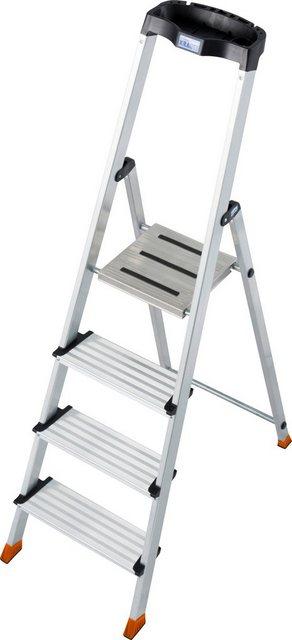 Krause Stufen-Stehleiter Sepuro 4 Stufen