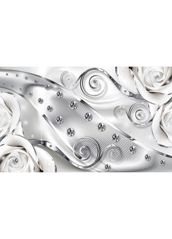 Consalnet Fototapetas »Luxuriöse Diamanten« glat...