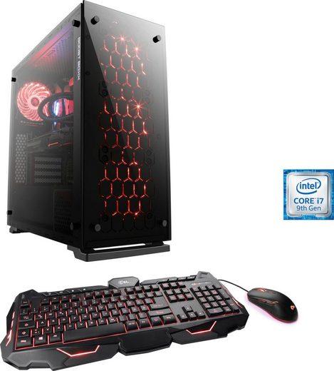 CSL ASUS RGB Gaming Edition T9915 Gaming-PC (Intel Core i7 9700K, RTX 2070, 16 GB RAM, 1000 GB HDD, 512 GB SSD, Wasserkühlung)