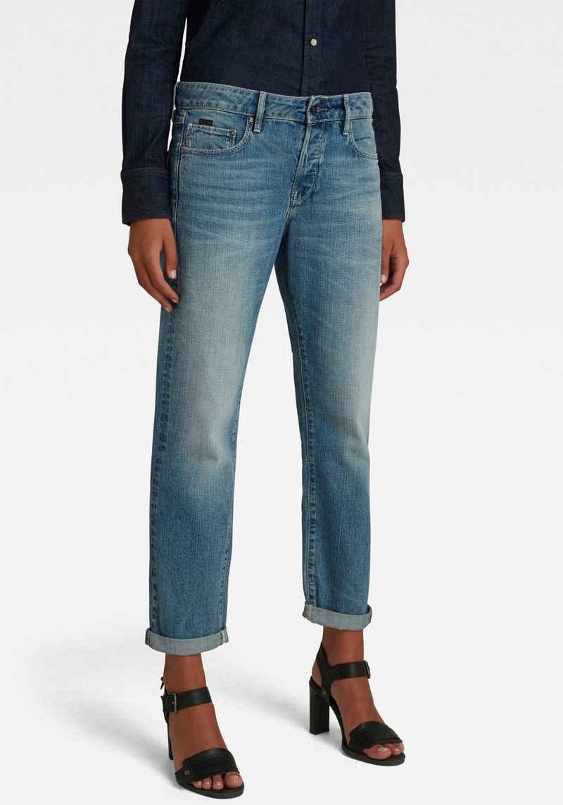 G-Star RAW Boyfriend-Jeans »Kate Boyfriend Jeans C« mit authentischer Waschung mit Usedeffekten