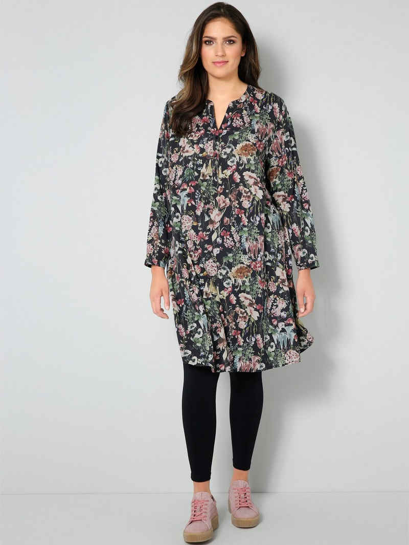 Janet & Joyce Sommerkleid mit floralem Dessin