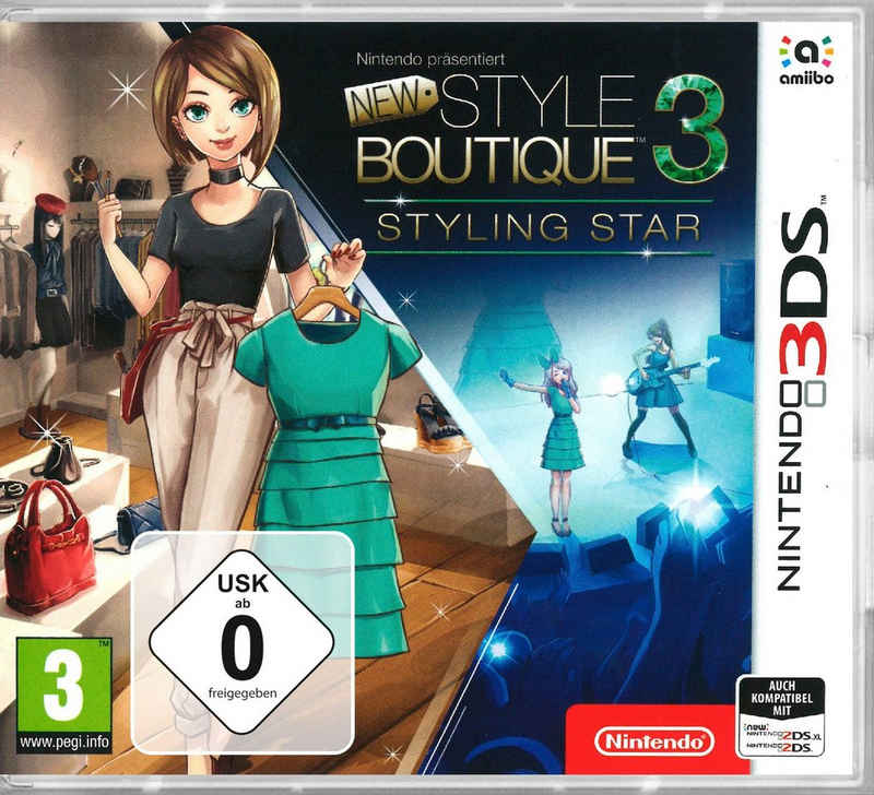 New Style Boutique 3 - Styling Star Nintendo 3DS