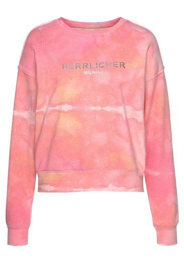 Herrlicher Sweatshirt »CARRIE« im Batik-Look