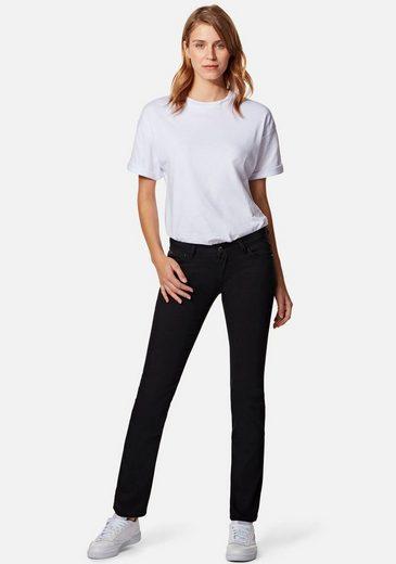 Mavi Straight-Jeans »OLIVIA« mit geradem Beinverlauf, enganliegend bis zum Oberschenkel
