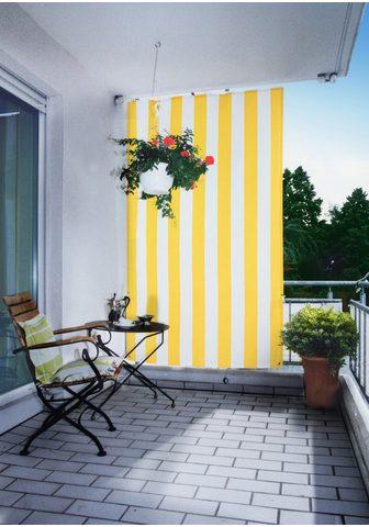 Floracord Senkrechtmarkise BxH: 140x230 cm gelb/...