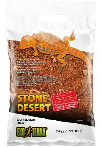 Exo Terra Terrarien-Substrat »EX Outback Red Sto...
