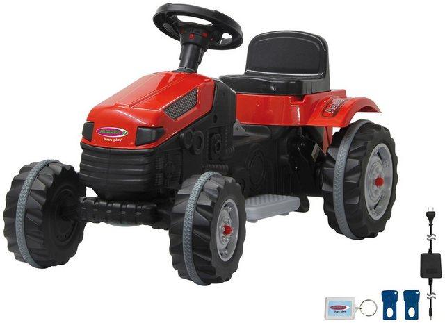 Trecker Kinder Elektroauto Traktor Strong Bull *