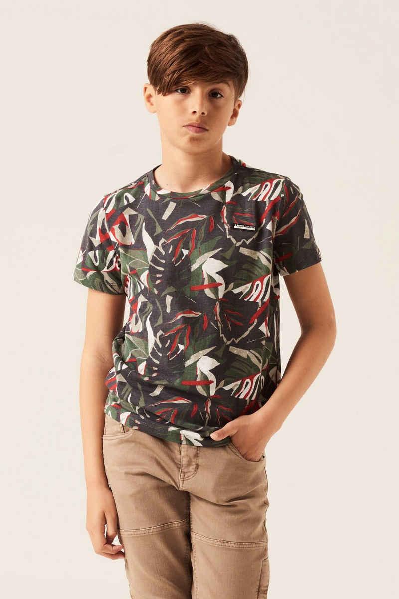 Garcia T-Shirt »H13607 - 2884-dark grey 1« mit allover Print