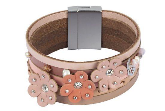 Heine Armband mit Blütenapplikation