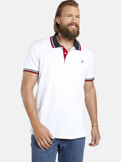 Jan Vanderstorm Poloshirt »JOHAN« (2er-Pack) in zwei modischen Designs