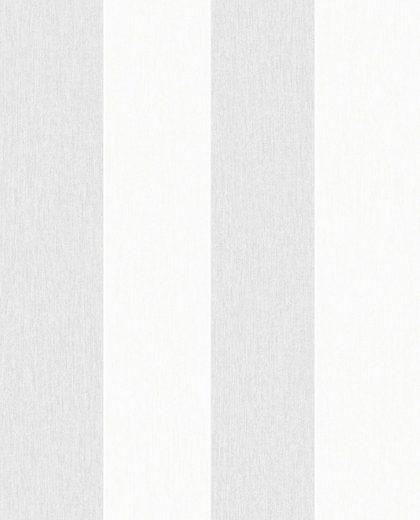Superfresco Easy Vliestapete »Calico - Streifen«, Streifen, (1 St), Grau - 10m x 52cm