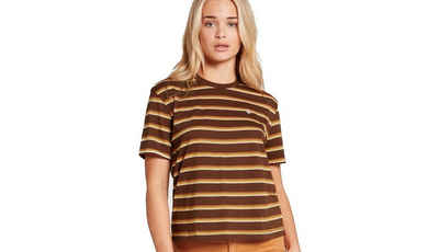 Volcom T-Shirt »Volcom Damen Shirt Choice Is Yours braun«