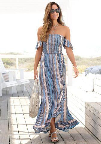 LASCANA Ilga suknelė su Bändern im Rücken