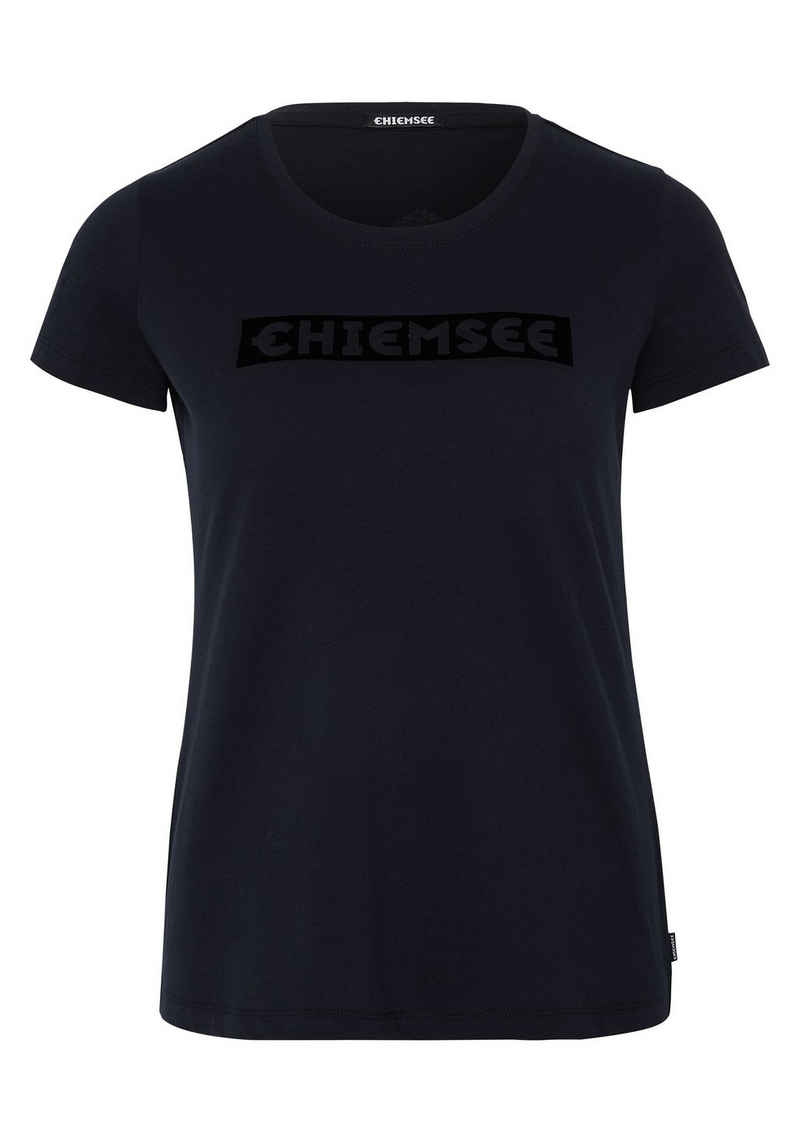 Chiemsee T-Shirt »mit CHIEMSEE Logoprint vorn« (1-tlg)