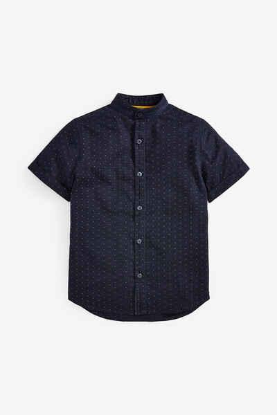 Next Kurzarmhemd »Gemustertes Hemd mit kurzen Ärmeln« (1-tlg)