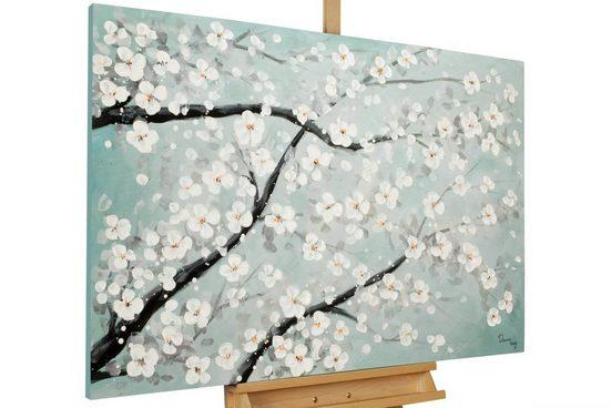 KUNSTLOFT Gemälde »New Life«, handgemaltes Bild auf Leinwand