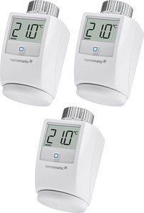 Homematic IP Heizkörperthermostat »3er Set«, (Set, 3 St)