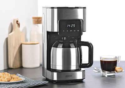 BEEM Filterkaffeemaschine Fresh Aroma Touch Thermo, 1l Kaffeekanne, Permanentfilter 1x4