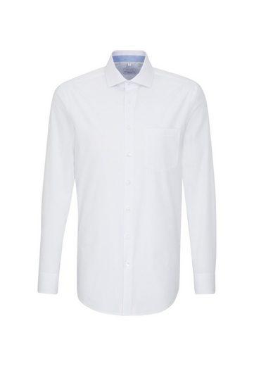 seidensticker Businesshemd »Regular« Regular Langarm Kentkragen Punkte