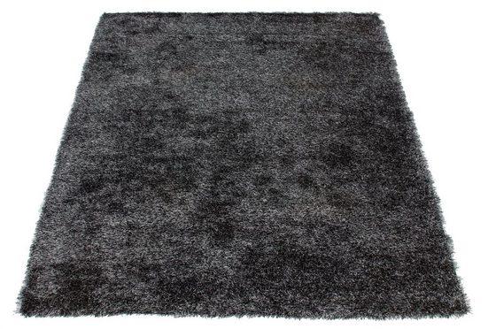 Fellteppich »Alvin«, andas, rechteckig, Höhe 45 mm, Kaninchenfell-Optik und Haptik, Kunstfell, Wohnzimmer
