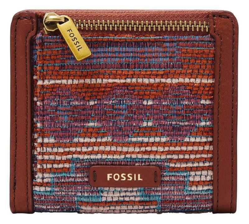 Fossil Geldbörse »LOGAN«, mit schöner Musterung