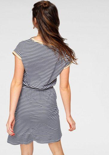 AJC Jerseykleid AJC Kleid in tollem Allover-Print oder Streifenlook