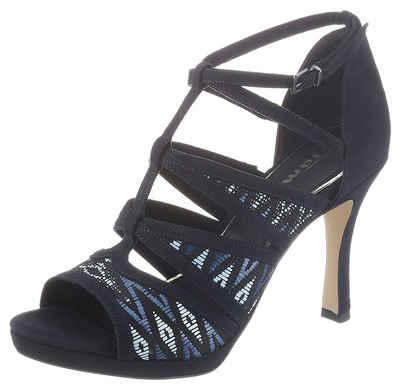 Tamaris »Myggia« High-Heel-Sandalette mit trendiger Ethno-Stickerei