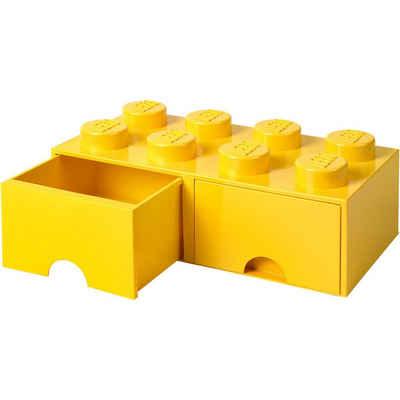 LEGO® Aufbewahrungsbox »LEGO Aufbewahrungsbox 8er rot mit Schublade, 50 x«