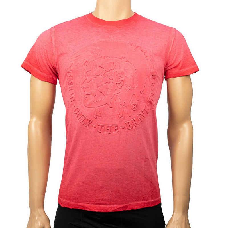 Diesel T-Shirt »00SW1U-0KANH-41U« Rosa