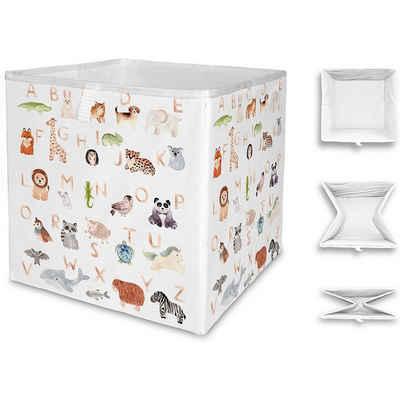 Mr. Little Fox Aufbewahrungsbox »Aufbewahrungsbox Tier ABC, faltbar«