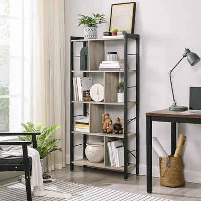 VASAGLE Bücherregal »LBC12BX«, Büroregal, Standregal, Wohnzimmer, Arbeitszimmer
