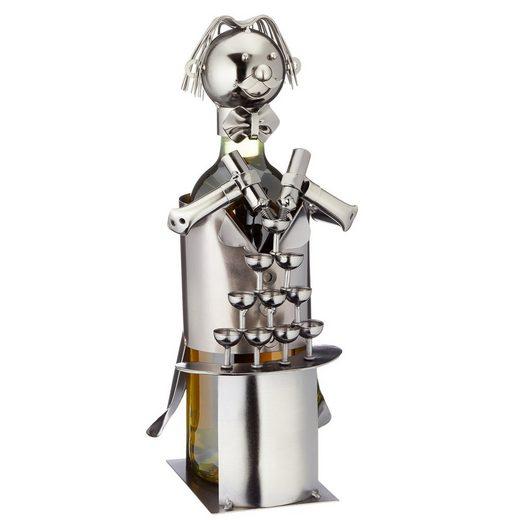 HTI-Living Weinflaschenhalter »Weinflaschenhalter Barkeeper«, (1-St)