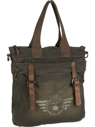 Greenburry Handtasche »Vintage Aviator 5900 Funktionsshopper«, Shopper