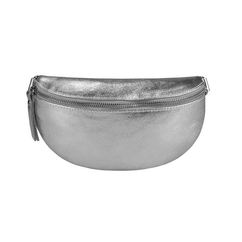 ITALYSHOP24 Bauchtasche »Damen Leder Gürteltasche Hüfttasche CrossBody Brusttasche Handytasche«, als Schultertasche, CrossOver, Umhängetasche tragbar