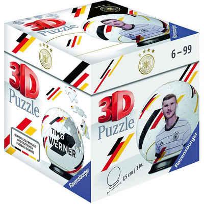 Ravensburger 3D-Puzzle »Puzzle-Ball DFB Spieler Timo Werner EM20, 54 Teile«, Puzzleteile
