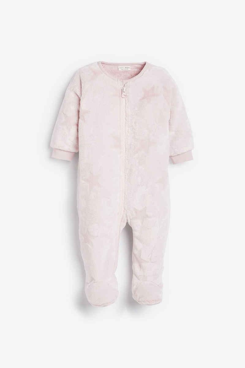 Next Schlafoverall »Fleece-Schlafanzug mit Sternenprint« (1-tlg)