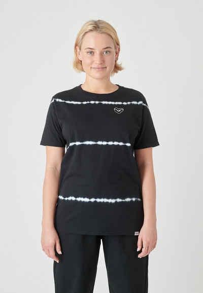 Cleptomanicx T-Shirt »Dandada« im stylischen Batik-Look