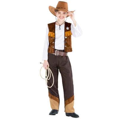 tectake Cowboy-Kostüm »Jungenkostüm Cowboy Luke«