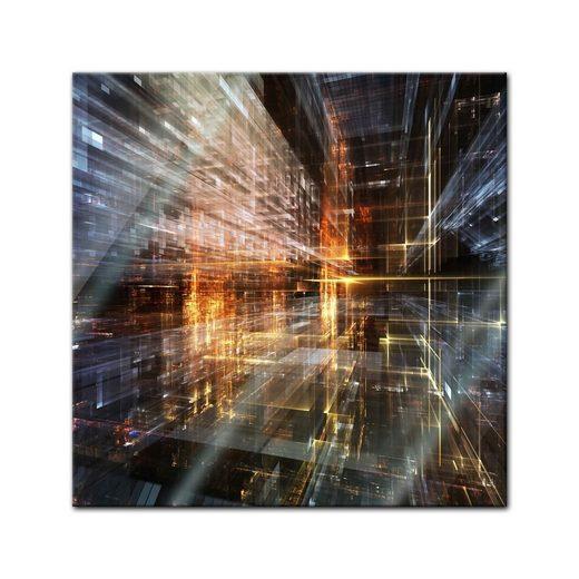 Bilderdepot24 Glasbild, Glasbild - Abstrakte Kunst LVI