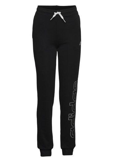 adidas Performance Jogginghose »ADIDAS GIRLS ESSENTIALS LOGO PANT«