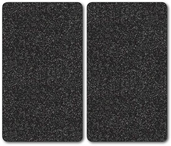 Bischof Herdblende-/Abdeckplatte »Granit«, ESG-Sicherheitsglas, (Set, 2 tlg)