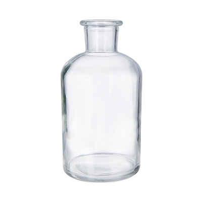 BUTLERS Kerzenhalter »LITTLE LIGHT 4x Dekoflasche recycling Höhe 12cm«