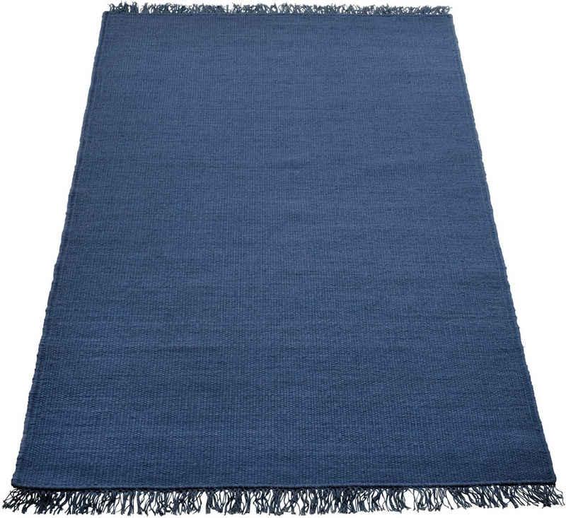 Teppich »Raigad«, Home affaire, rechteckig, Höhe 7 mm, Wendeteppich, Wohnzimmer