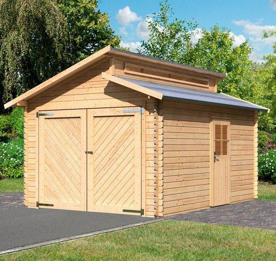 KARIBU Einzel-Garage »Kalle«, BxT: 360x489 cm, Einfahrtshöhe: 193 cm