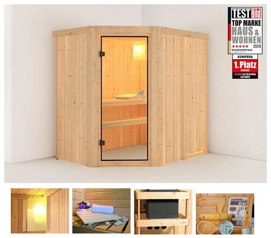 KONIFERA Sauna »Sylta«, 196x151x198 cm, ohne Ofen