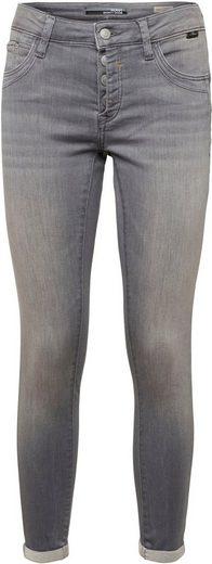 Mavi Skinny-fit-Jeans »LEXY« mit Push-Up Effekt und halb offener Knopfleiste